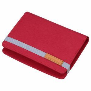 ハクバ SP-EDDR02RD 電子辞書ケース「プラスシェル ダイアリー02」 レッド