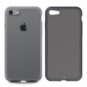 DAQ AMPNC800-CBK IPHONE8/7ケース4.7 Plain for iPhone 8/iPhone 7  クリアブラック
