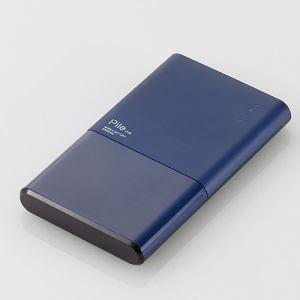 """エレコム DE-M06-N5024BU モバイルバッテリー""""Pile one"""" ブルー"""