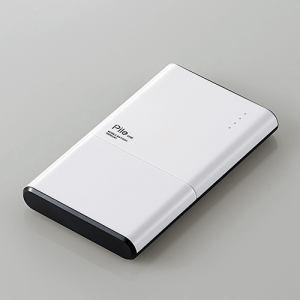 """エレコム DE-M06-N5024WH モバイルバッテリー""""Pile one"""" ホワイト"""