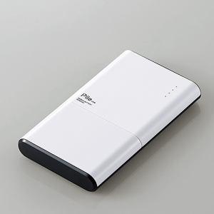 """エレコム DE-M07-N6030WH モバイルバッテリー""""Pile one"""" ホワイト"""