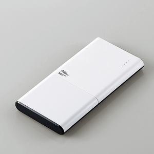 """エレコム DE-M08-N10048WH モバイルバッテリー""""Pile one"""" ホワイト"""