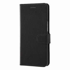 レイ・アウト Android One X3 手帳 シンプル マグネット/ブラック RT-ANX3ELC1/BB