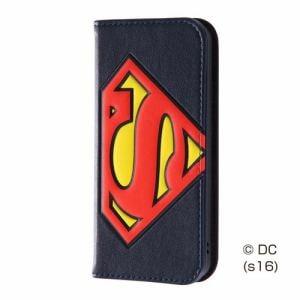 レイ・アウト iPhone SE/5s/5 スーパーマン 手帳型 ポップアップ/スーパーマン RT-WP11J/SM
