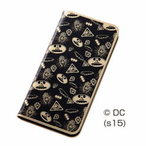 レイ・アウト iPhone 6/6s バットマンメタルブックレザーケース/バットマン RT-WP9E/BM