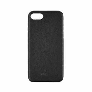 トリニティ iPhone 8/7 [NUNO] クラリーノ バックケース シュリンクブラック TR-IP174-NNPT-TSBK