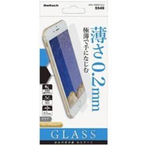 オウルテック OWL-TGSIP7-CL2 iPhone 7用 保護強化ガラス 0.2mm