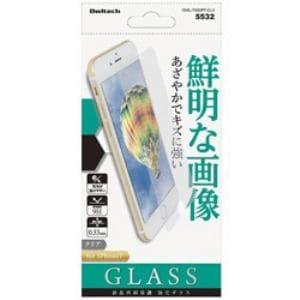 オウルテック OWL-TGSIP7-CL3 iPhone 7用 保護強化ガラス 0.33mm