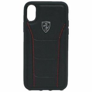 エアージェイ フェラーリ FEH488HCPXBK iPhoneX専用 488 本革ハードケース ブラック
