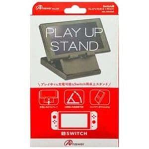 アンサー ANS-SW030BK Nintendo Switch用 プレイアップスタンド ブラック