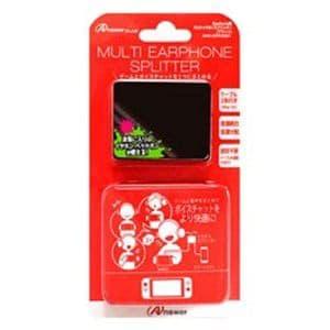 アンサー ANS-SW039BK Nintendo Switch用 マルチイヤホンスプリッター ブラック