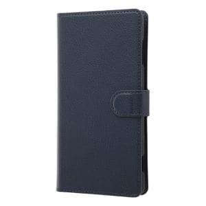 caa92f7fb0 レイ・アウト Xperia XZ2 Premium 手帳 マグネット スリープ/ダークネイビー RT-RXZ2PELC3/