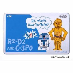 レイ・アウト ICカードステッカー/C-3PO、R2-D2 RT-SWICSB/CR