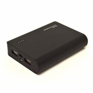 ラスタバナナ RLI080M2A01BK モバイルバッテリー 8000mAh 2A+1A出力   ブラック