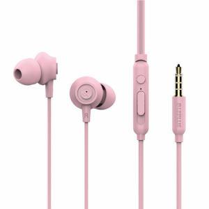MSソリューションズ iPhone/スマートフォンイヤフォン極の音域PLAINプレーンピンク