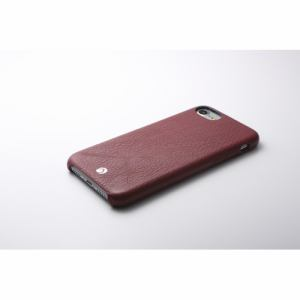 DEFF iPhone 7用 RONDA Spanish Leather Case ジャケットタイプ ボルドー DCS-IP7RABSLBD
