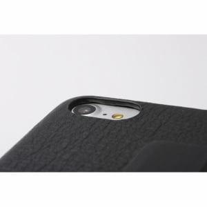 DEFF iPhone 7用 RONDA Spanish Leather Case フリップタイプ ブラック DCS-IP7RAFSLBK
