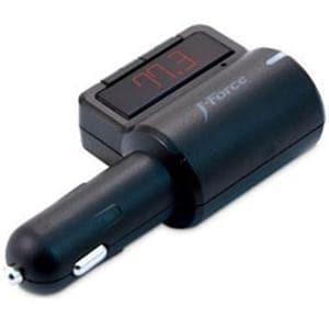 フォースメディア JFBTFM23KC スマートフォン対応 シガーソケット搭載ワイヤレスFMトランスミッター