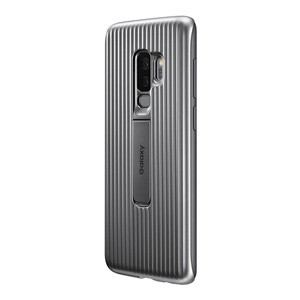 サムスン EF-RG965CSEGJP Galaxy S9+(SC-03K/ SCV39)用 Mil規格準拠カバー「Protective Standing Cover」(シルバー)