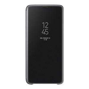 サムスン EF-ZG965CBEGJP Galaxy S9+(SC-03K/ SCV39)用 CLEAR VIEW STANDING COVER(ブラック)