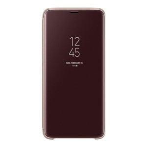 サムスン EF-ZG965CFEGJP Galaxy S9+(SC-03K/ SCV39)用 CLEAR VIEW STANDING COVER(ゴールド)