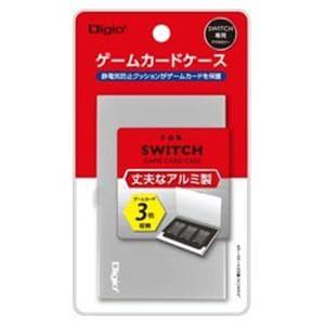 ナカバヤシ MCC-SWI01SL SWITCH用アルミゲームカードケース3枚入 シルバー