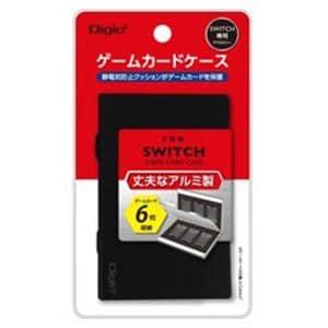 ナカバヤシ MCC-SWI02BK SWITCH用アルミゲームカードケース6枚入 ブラック