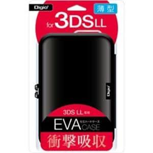 ナカバヤシ SZC-3DSLL01BK ニンテンドーnew3DSLL/new2DSLL用 薄型セミハードケース ブラック