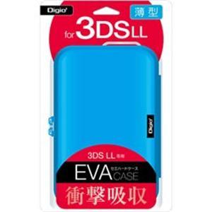 ナカバヤシ SZC-3DSLL01BL ニンテンドーnew3DSLL/new2DSLL用 薄型セミハードケース ブルー