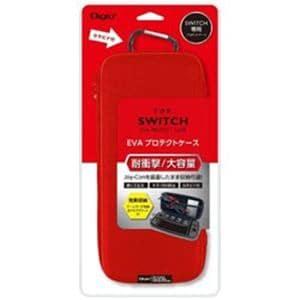 ナカバヤシ SZC-SWI01R ニンテンドーSWITCH用プロテクトケース レッド