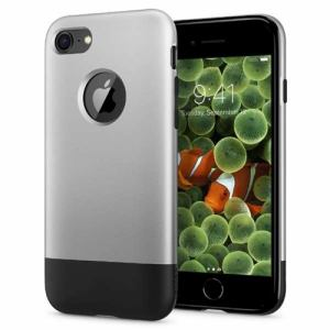 spigen(シュピゲン) 054CS24406 iPhone 8 / iPhone 7 Classic One Aluminum Gray