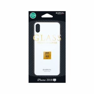 MSソリューションズ LP-IPLGSWH 背面ガラスシェルケース SHELL GLASS ホワイト
