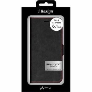 エアージェイ AC-P18M-PB BKR 手帳型ケース   ブラック