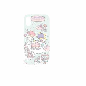 グルマンディーズ SAN-905TS サンリオキャラクター 2018 New iPhone 6.1inch対応ソフトケース キキ&ララ
