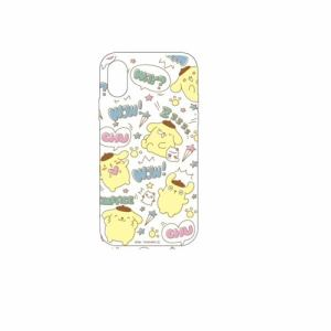 グルマンディーズ SAN-905PN サンリオキャラクター 2018 New iPhone 6.1inch対応ソフトケース ポムポムプリン