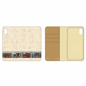 グルマンディーズ DN-555A ディズニーキャラクター / 2018 New iPhone 6.1inch対応フリップカバー ミッキーマウス