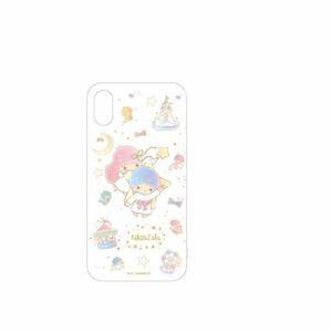 グルマンディーズ SAN-908TS サンリオキャラクター 2018 New iPhone 6.5inch対応ソフトケース キキ&ララ
