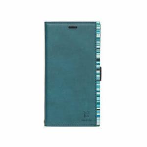 NATURALdesign IP18_61-ACB06 手帳型ケース   ターコイズ