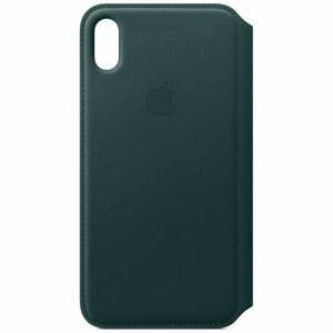 アップル(Apple) MRX42FE/A iPhone XS Max レザーフォリオ フォレストグリーン
