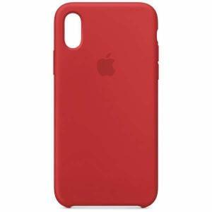 アップル(Apple) MRWC2FE/A 【純正】iPhone XS シリコーンケース (PRODUCT)RED