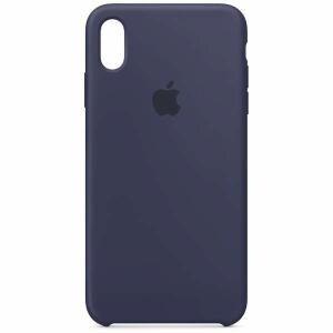 アップル(Apple) MRWG2FE/A 【純正】iPhone XS Max シリコーンケース ミッドナイトブルー