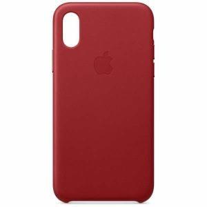 アップル(Apple) MRWK2FE/A 【純正】iPhone XS レザーケース (PRODUCT)RED