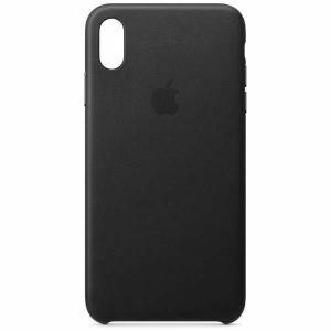 アップル(Apple) MRWT2FE/A 【純正】iPhone XS Max レザーケース ブラック