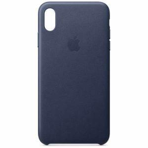 アップル(Apple) MRWU2FE/A 【純正】iPhone XS Max レザーケース ミッドナイトブルー