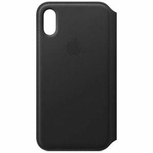 アップル(Apple) MRWW2FE/A 【純正】iPhone XS レザーフォリオ ブラック
