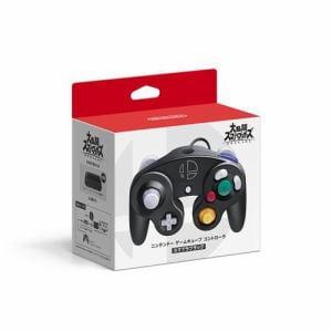 ニンテンドー ゲームキューブ コントローラ スマブラブラック HAC-A-GCCKE