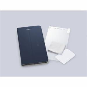 NEC PC-AC-AD012C TE507/JAW用カバー&保護フィルム LAVIE Tab E ネイビーブルー