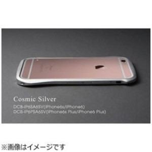 DEFF DCB-IP6PSA6SV iPhone 6s Plus/6 Plus用 CLEAVE Aluminum Bumper コスミックシルバー