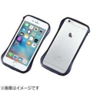 DEFF DCB-IP6SA6BU iPhone 6s/6用 CLEAVE Aluminum Bumper ミッドナイトブルー