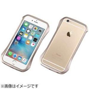 DEFF DCB-IP6SA6GD iPhone 6s/6用 CLEAVE Aluminum Bumper エレガンスゴールド